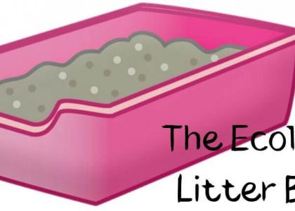 Illustration of a litter box